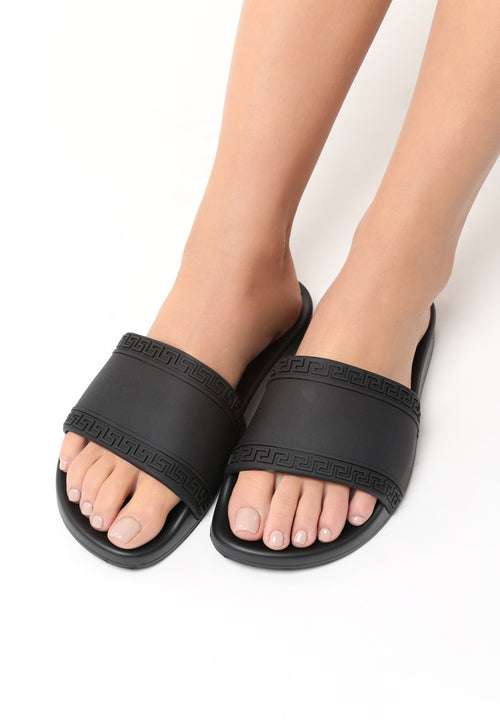 Norma Slipper - Black