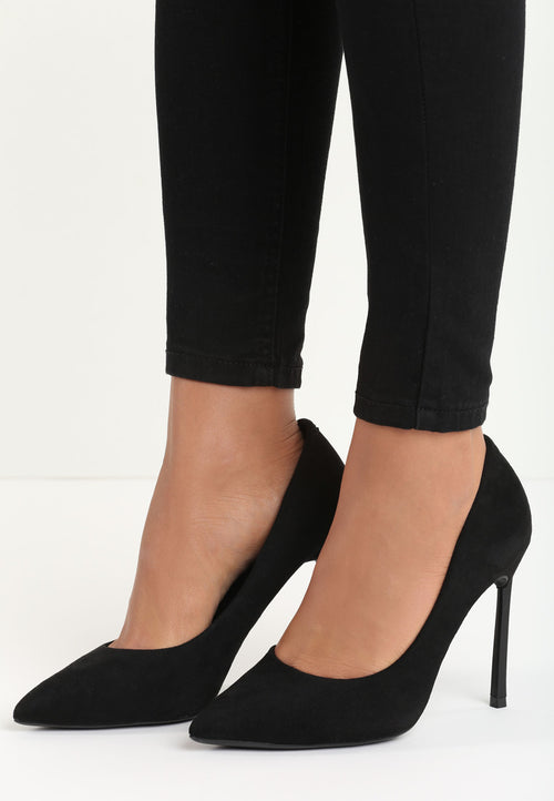 Catherine High Heel Pump - Black