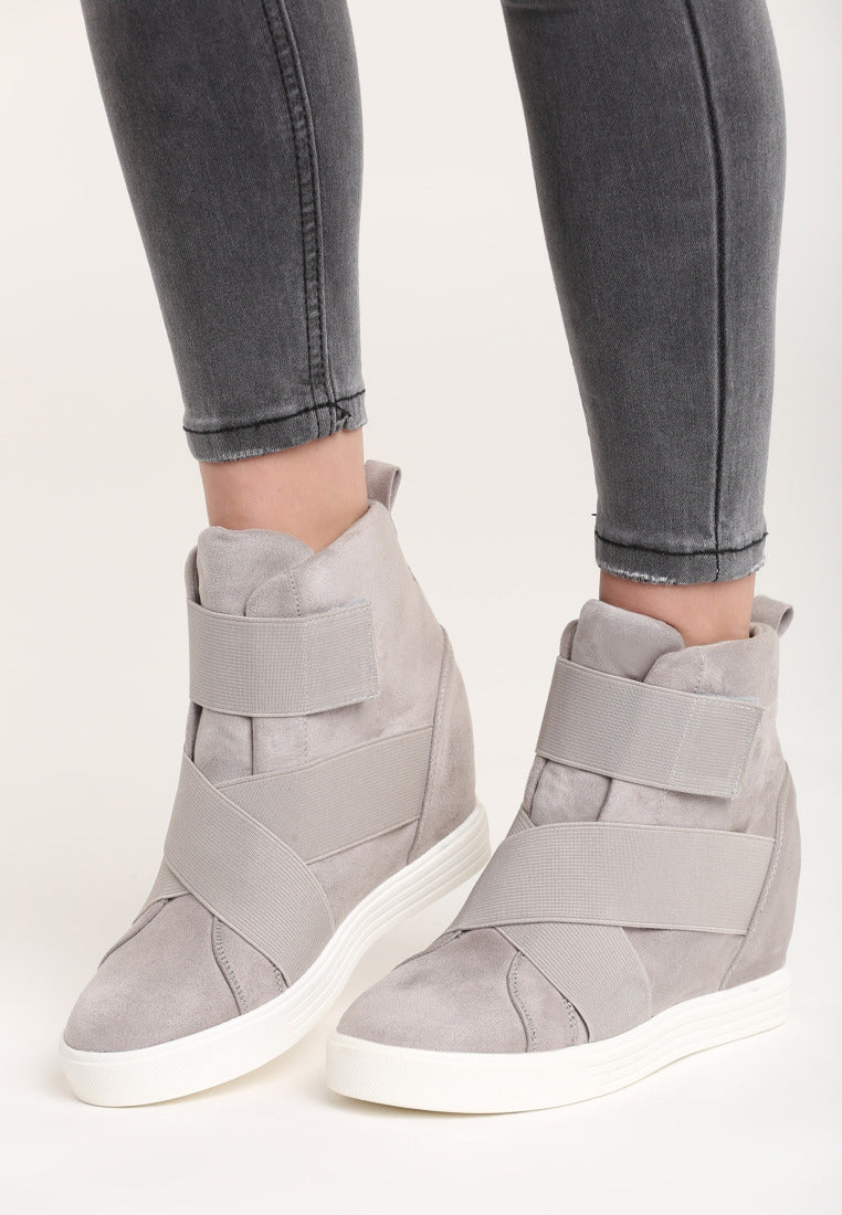 970ce689f29d Ruth Wedge Sneaker - Grey – Vices USA