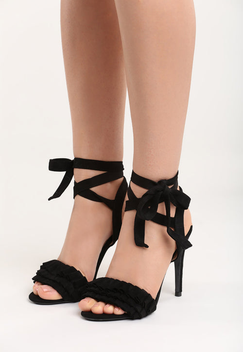 Karen High Heel Sandal - Black