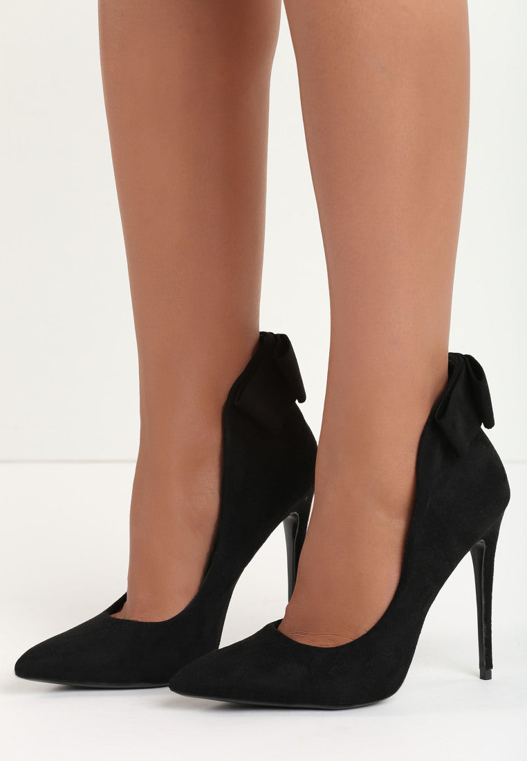 Janet High Heel Pump - Black