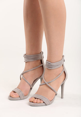Kelly High Heel Sandal - Beige