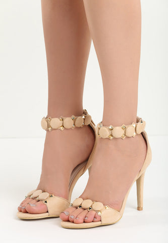 Sharon High Heel Sandal - Blue