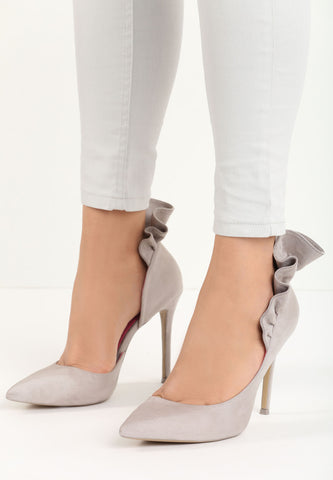 Shirley High Heel Pump - Grey