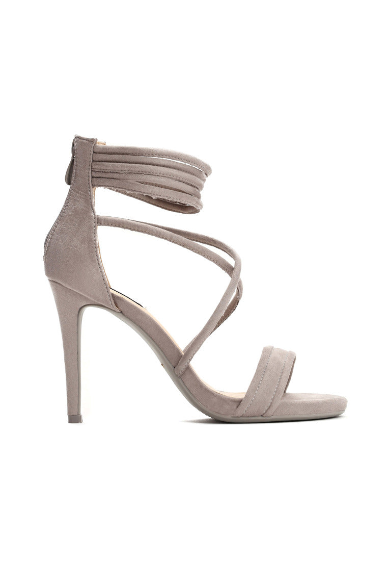 LAURA High Heel Sandal - Grey