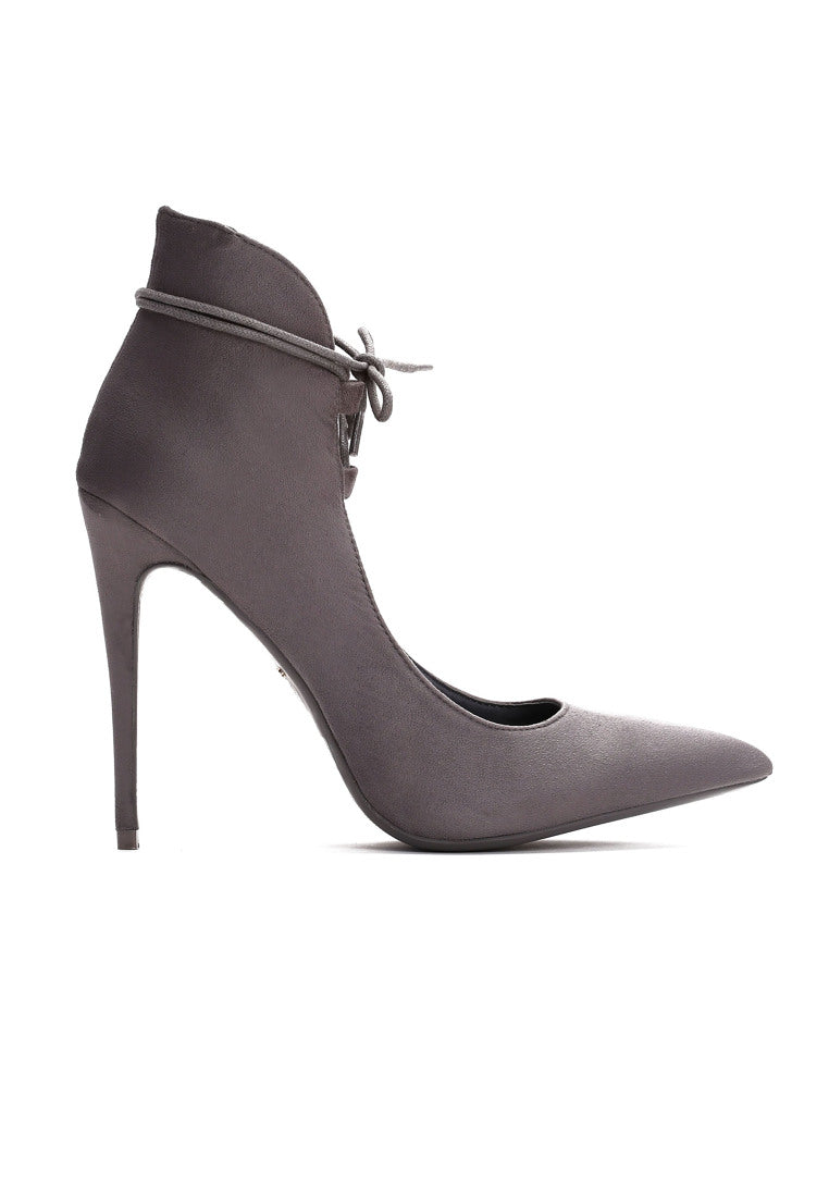 Stephanie High Heel Pump - Grey