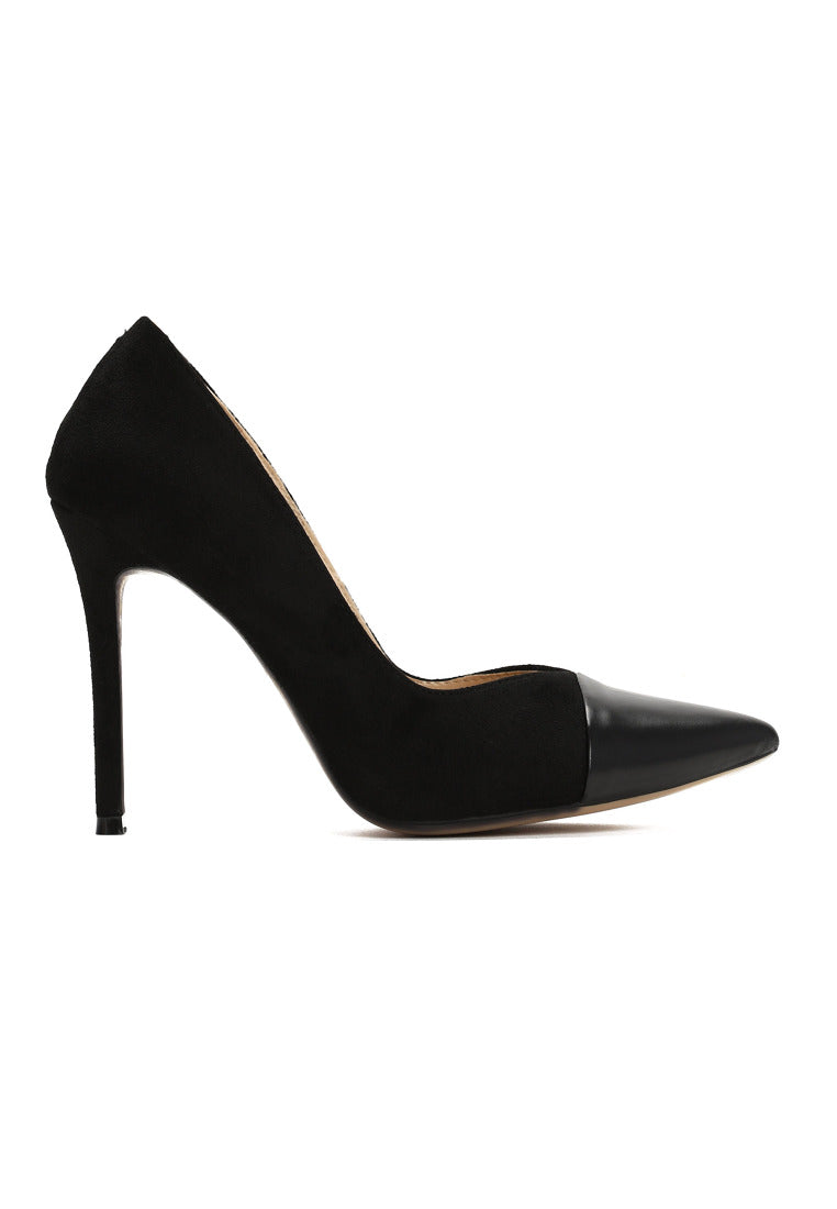 Katherine High Heel Pump - Black