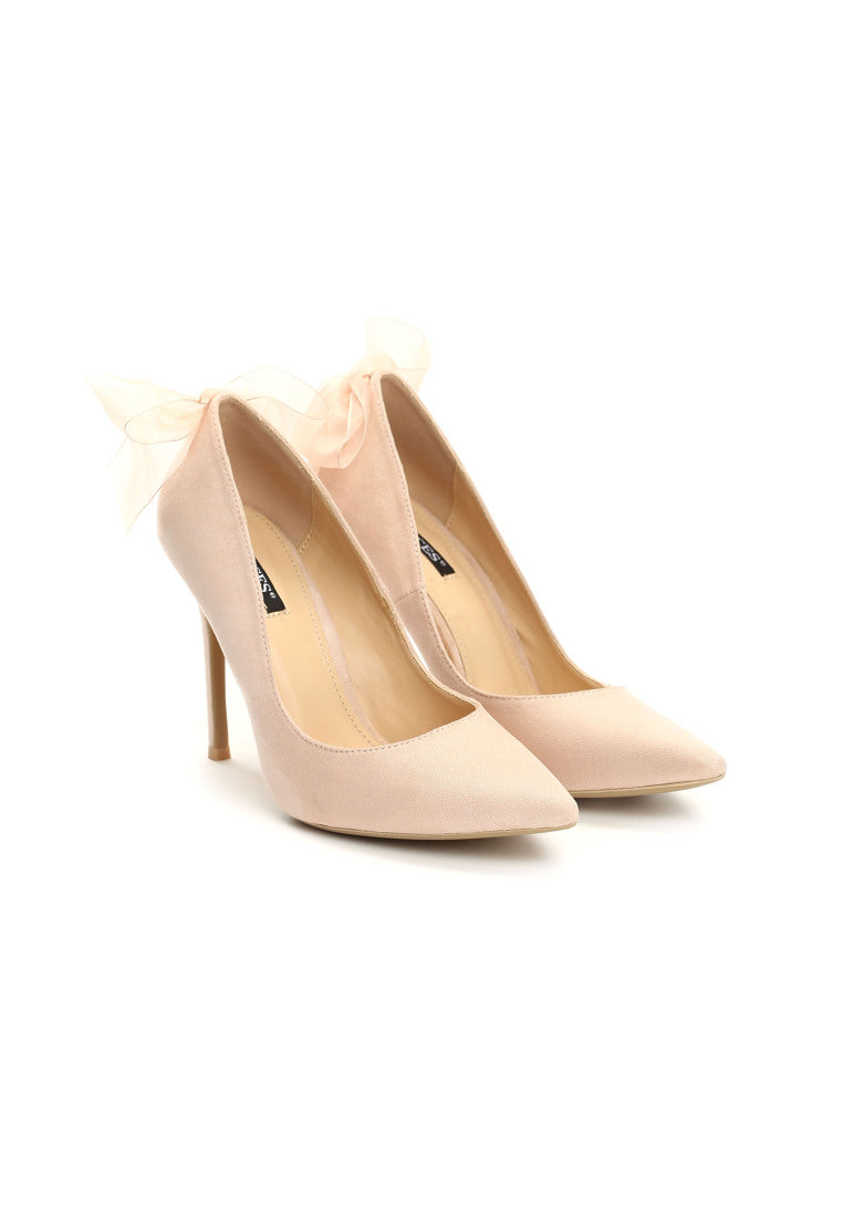 Doris High Heel Pump - Pink