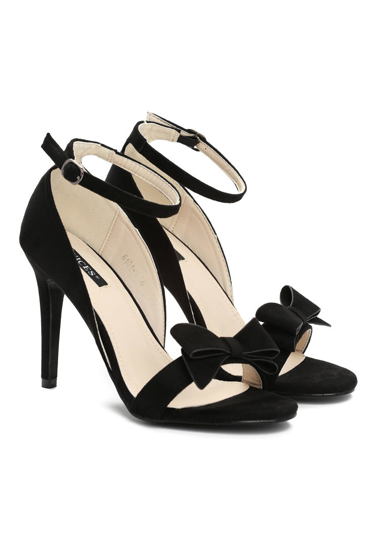 Janice High Heel Sandal - Black