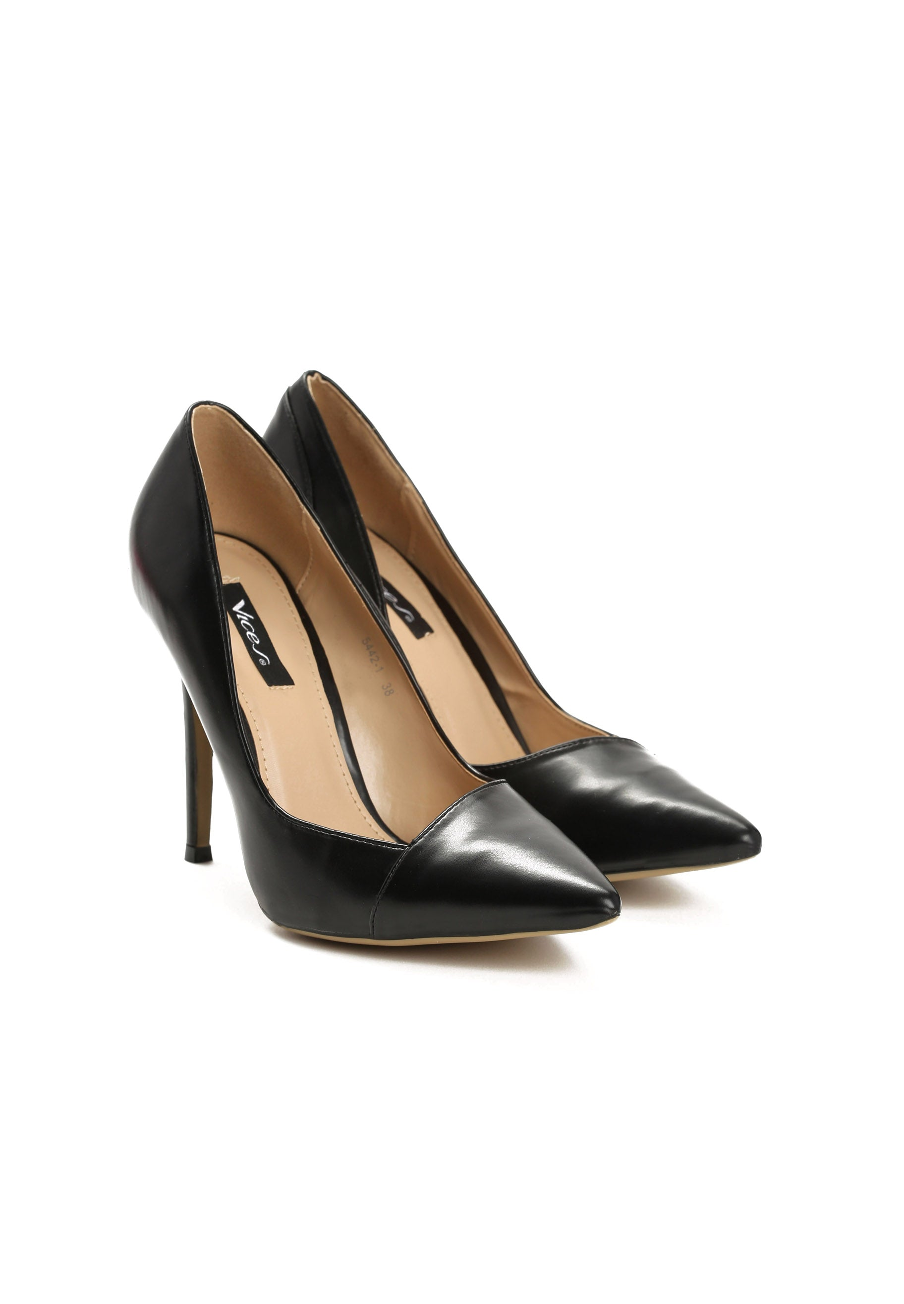 MILDRED High Heel Pump - Black