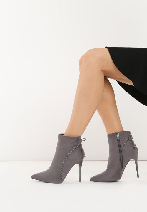 Carolyn Bootie - Grey