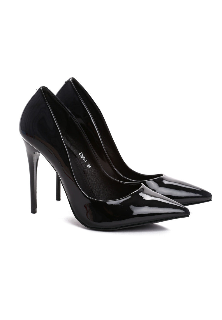 Tina High Heel Pump - Black