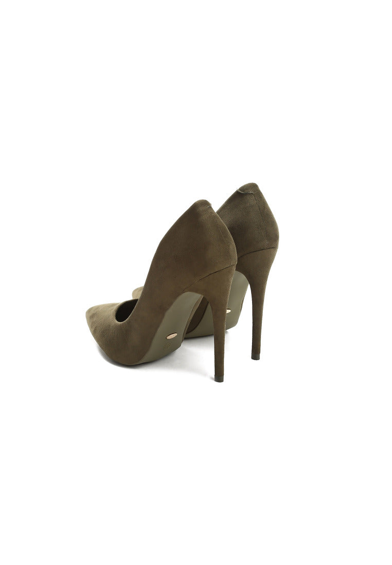 Evelyn High Heel Pump - Green