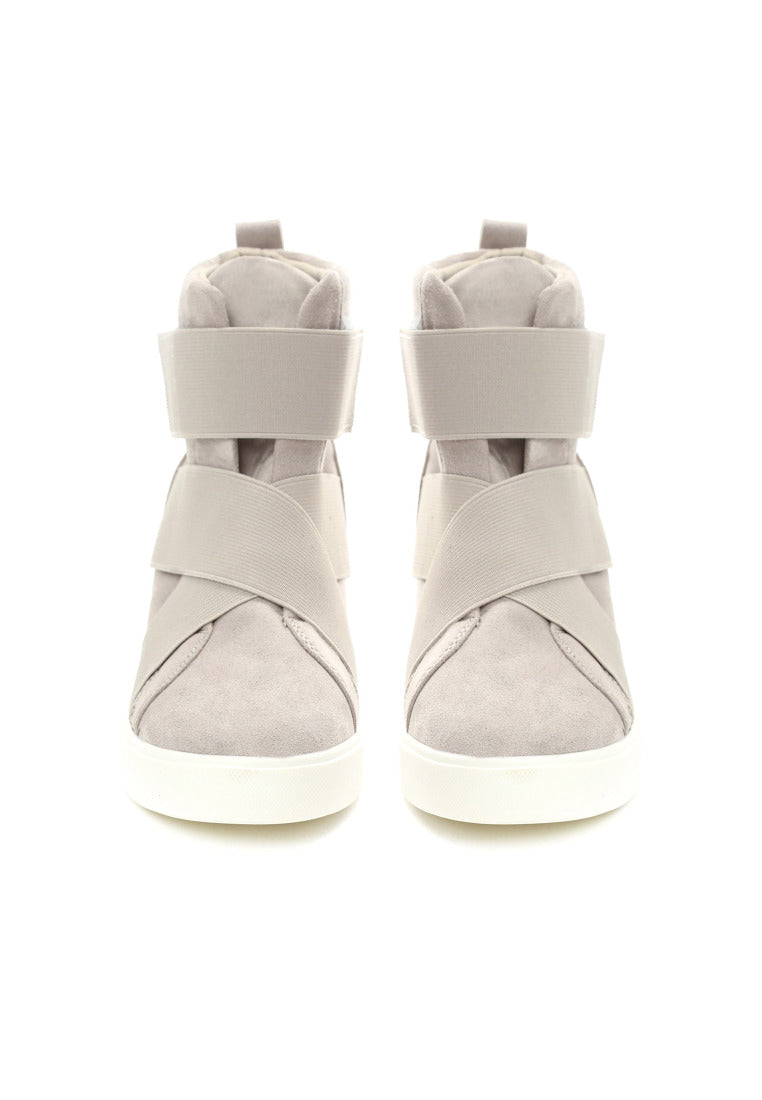 Ruth Wedge Sneaker - Grey