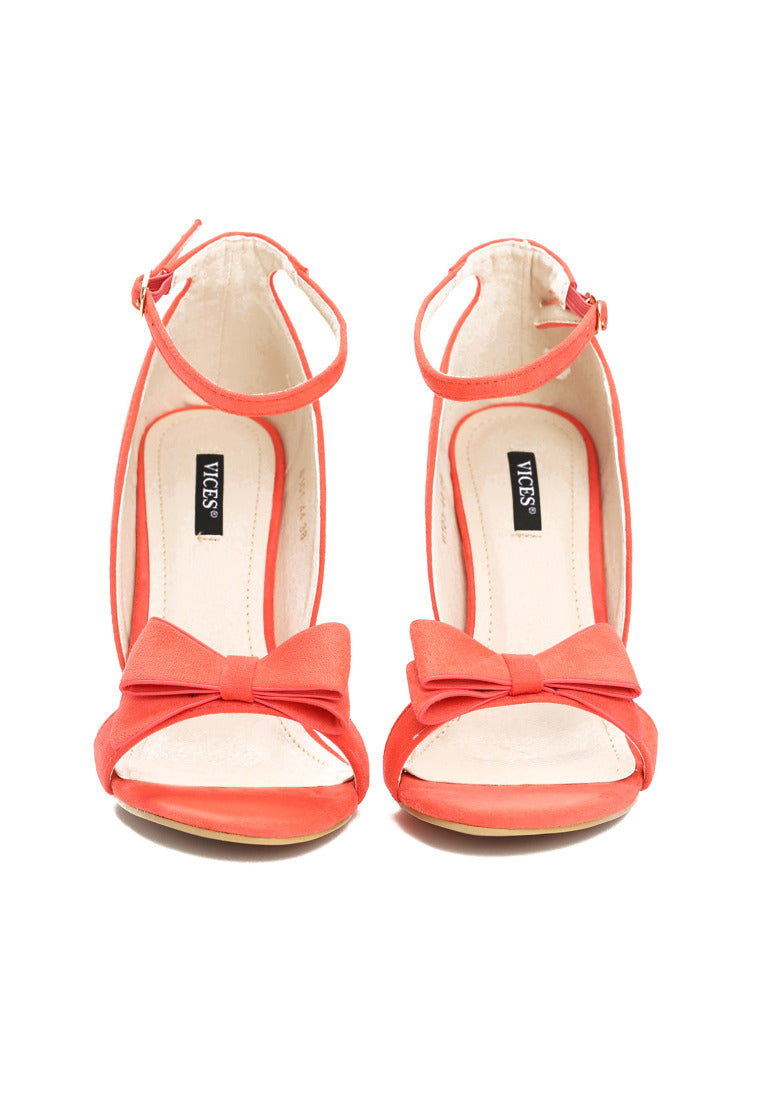 Janice High Heel Sandal - Orange
