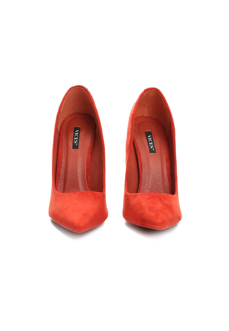 Evelyn High Heel Pump - Orange