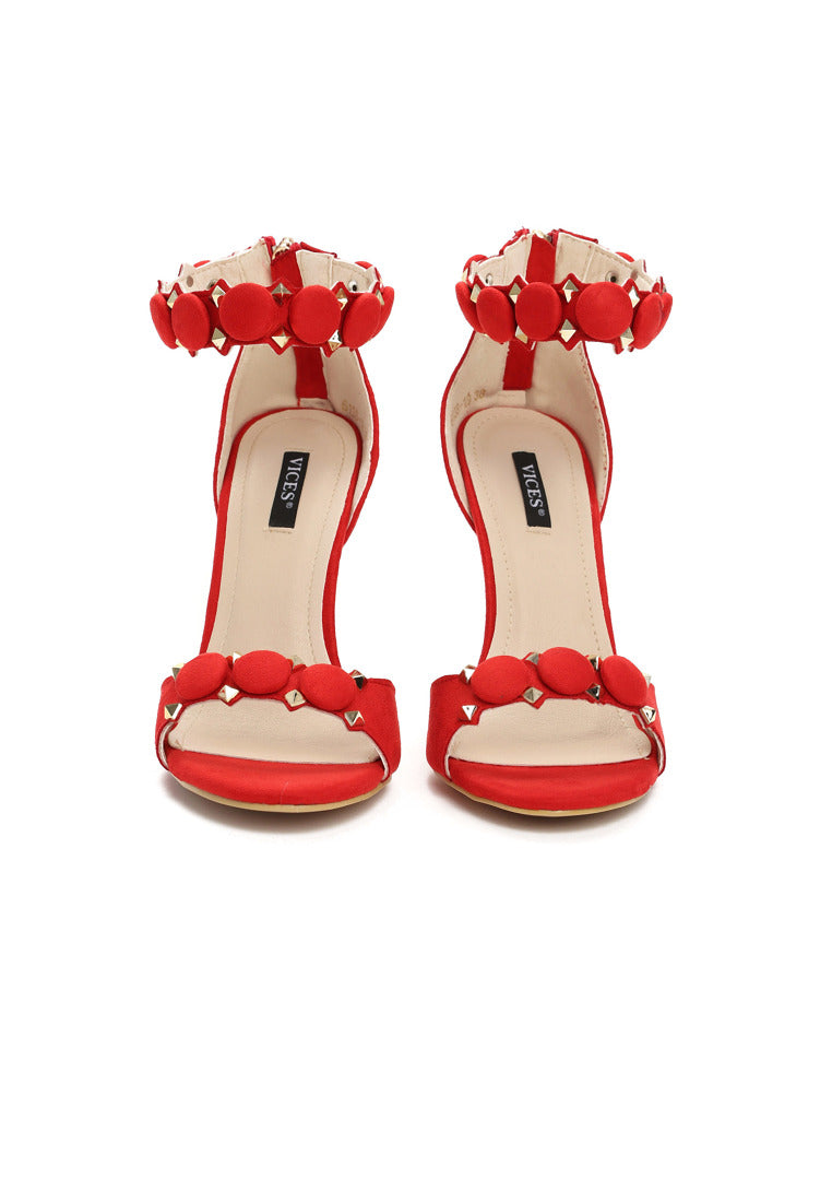 Christina High Heel Sandal - Red