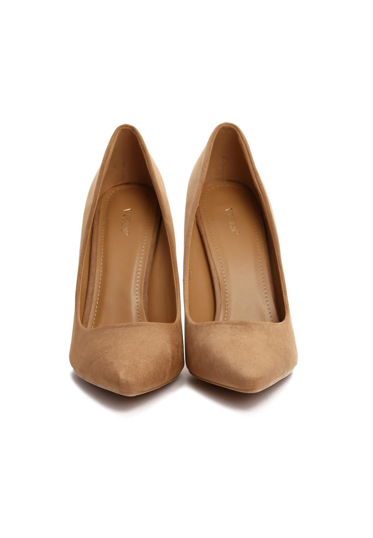 Viola High Heel Pump - Camel