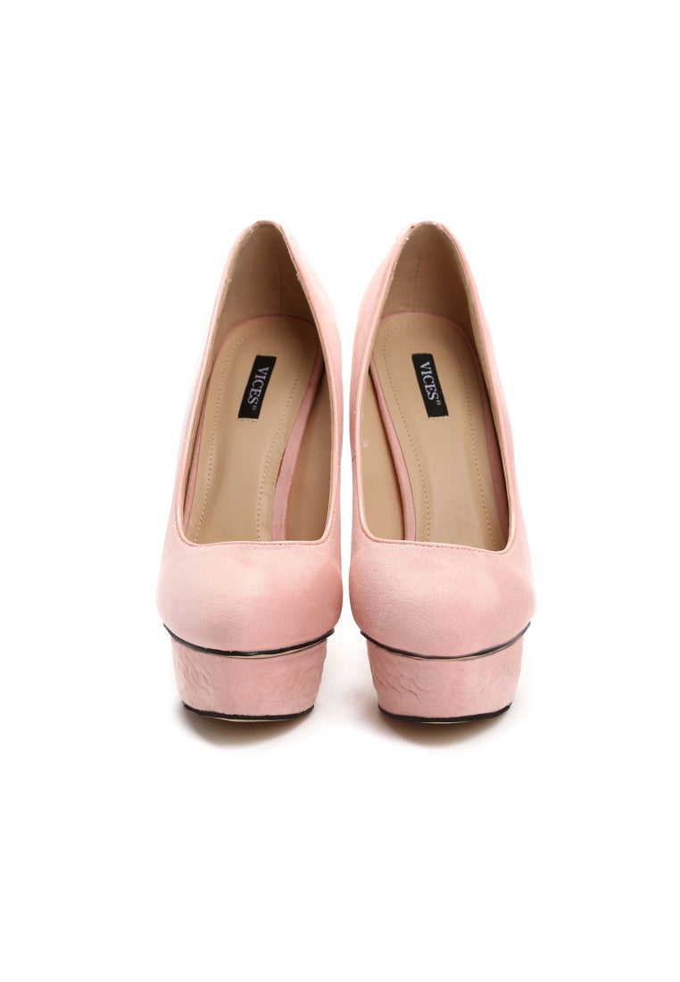 MARGARET High Heel Platform Pump - Pink