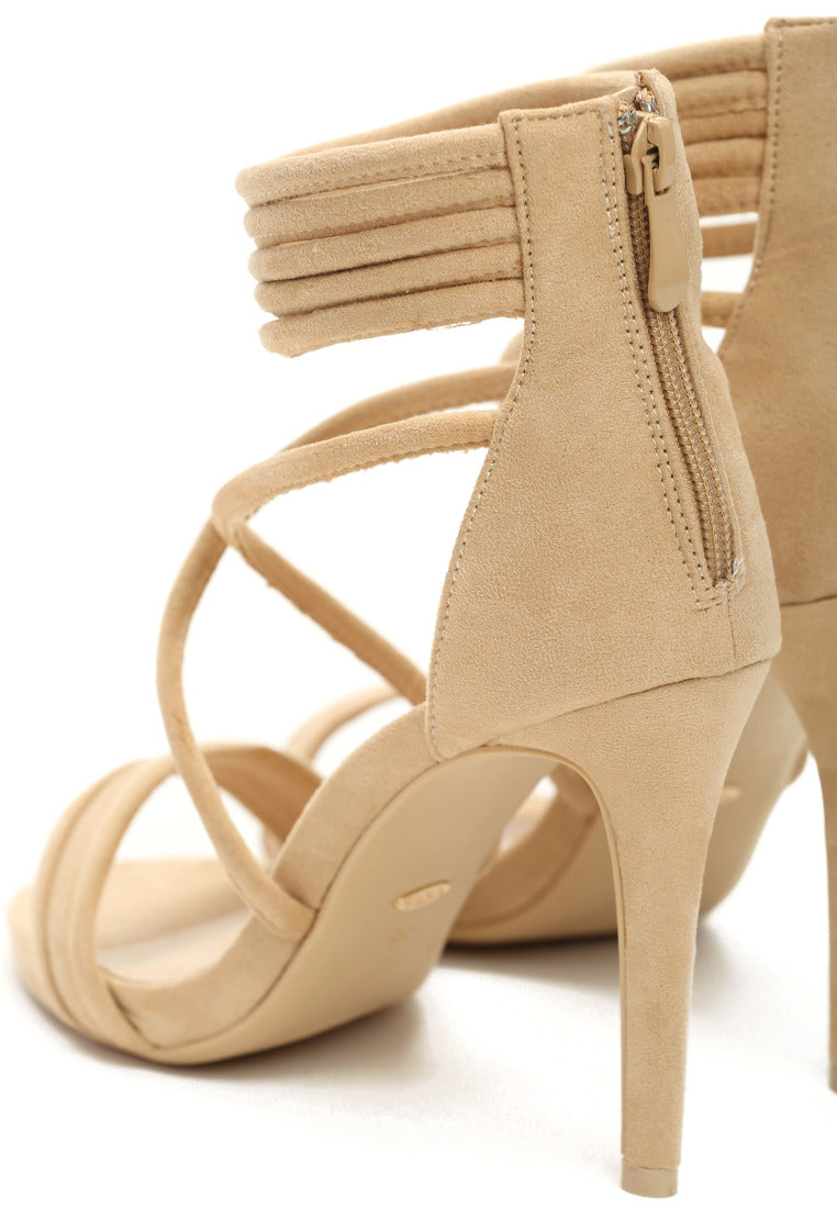 LAURA High Heel Sandal - Beige