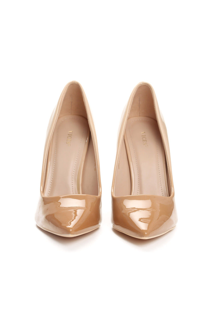 MARY High Heel Pump - Beige