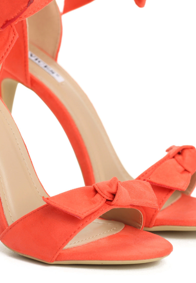 Helen High Heel Sandal - Orange