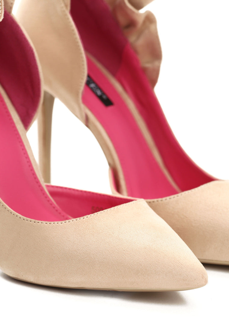 Gloria High Heel Pump - Beige