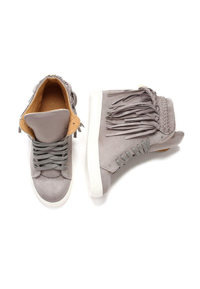 Judith Wedge Sneaker - Grey