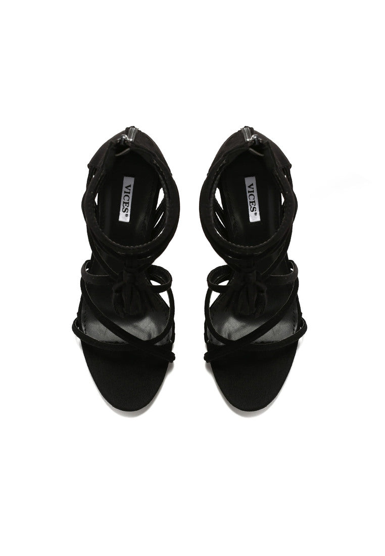 Sharon High Heel Sandal - Black