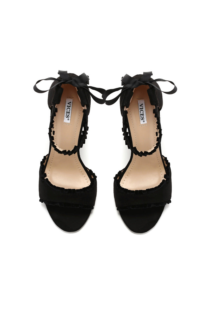 MICHELLE High Heel Sandal - Black