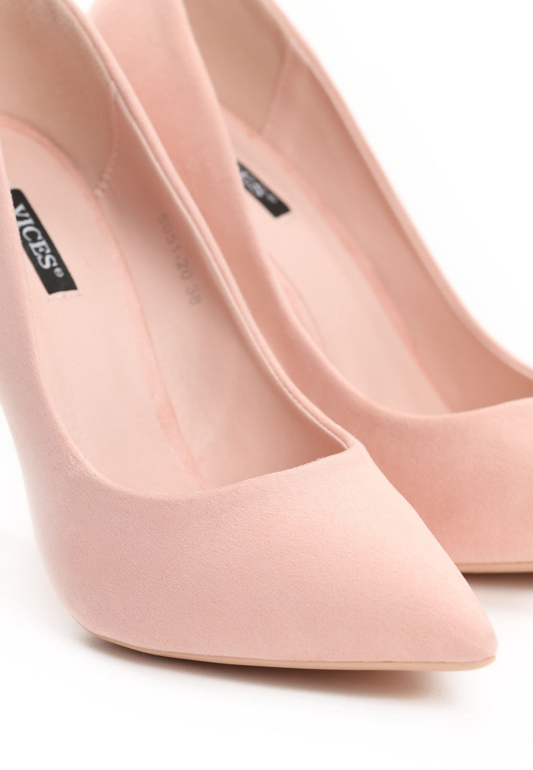 Catherine High Heel Pump - Pink