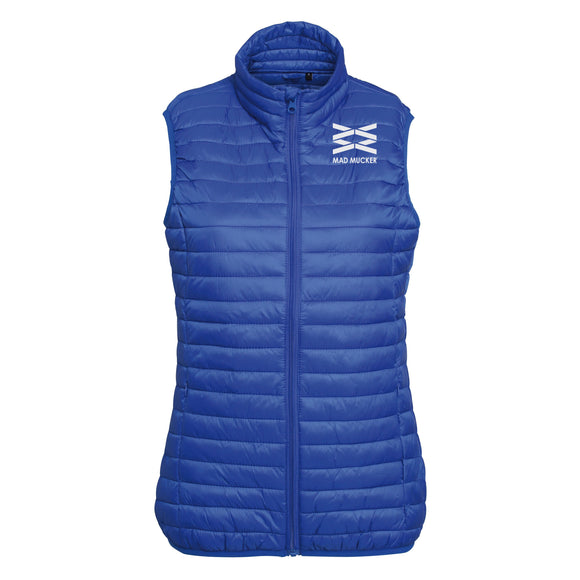 Merri Royal Blue Fine Padded Gilet