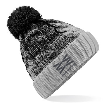 Beatrice Bobble Hat - Black
