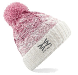 Beatrice Bobble Hat - Soft Pink