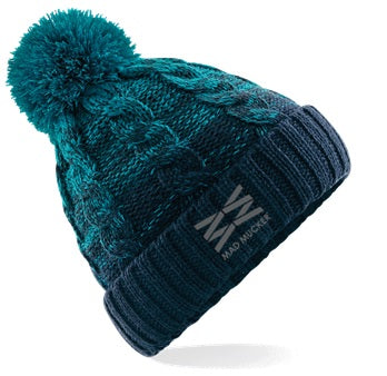 Beatrice Bobble Hat - Teal