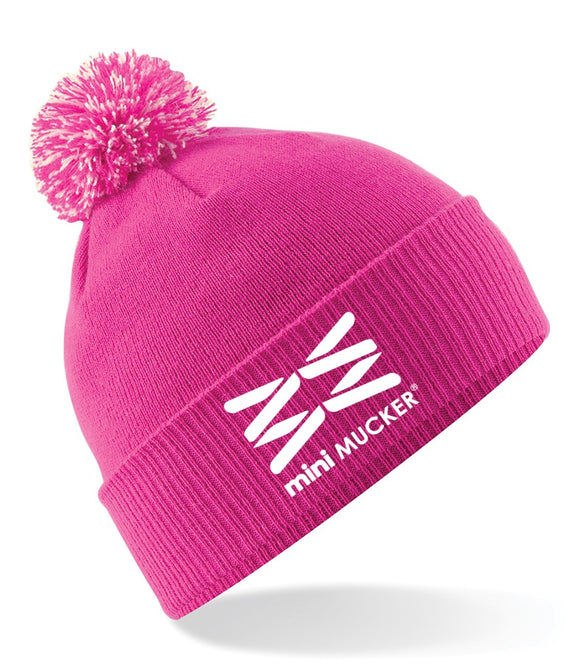Bertie Bobble Hat - Pink