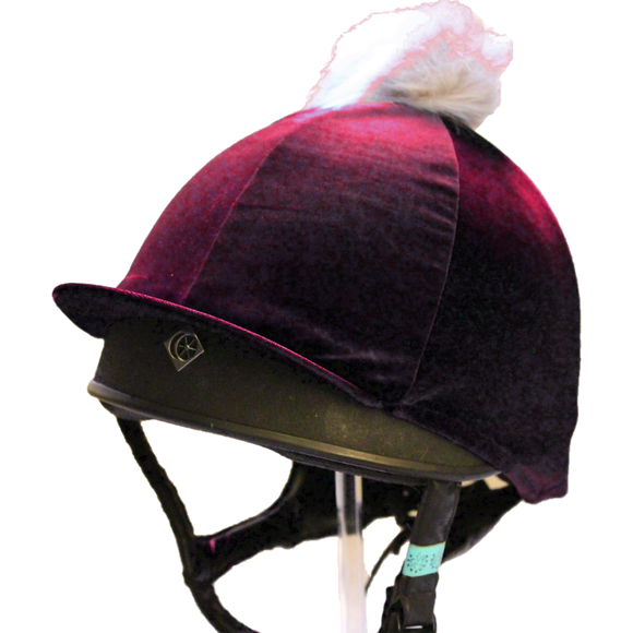 Olivia Hat Cover - Mulberry