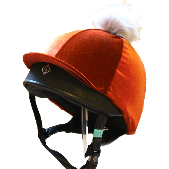 Olivia Hat Cover - Burnished Orange