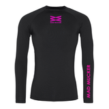 Kaelan Base Layer - Black/Pink