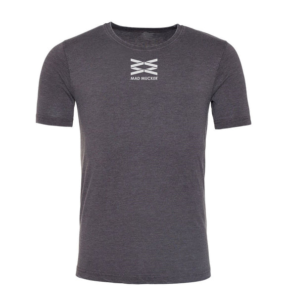 Arkle Washed T-Shirt - Charcoal Grey