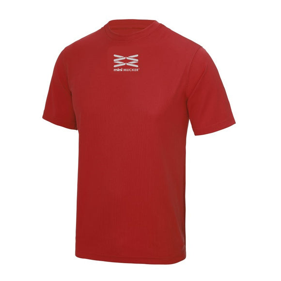 Lucca Kid's Performance T - Red
