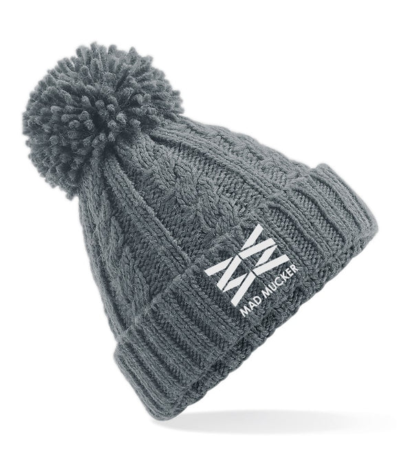 Briar Bobble Hat - Grey