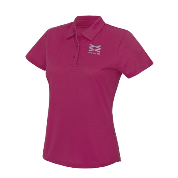 Polly Sports Polo - Hot Pink