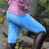 Selena Sculpted Riding Leggings - Sapphire Blue