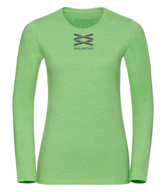 Lydia Base Layer - Green Marl