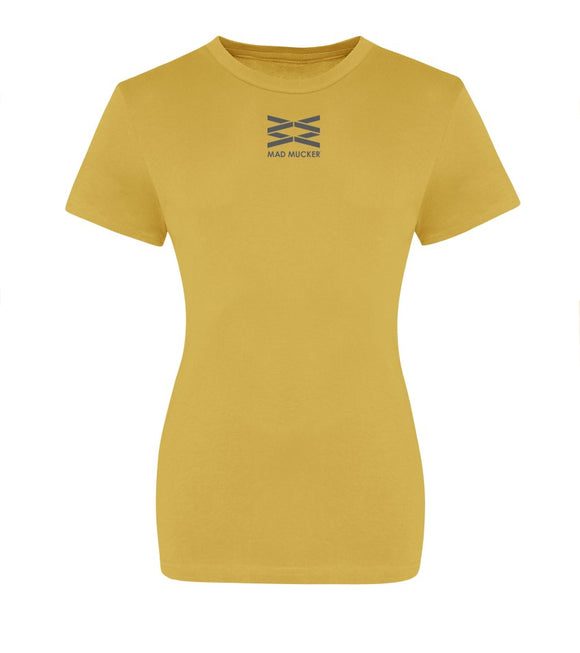 Lexi Cotton T-Shirt -Mustard