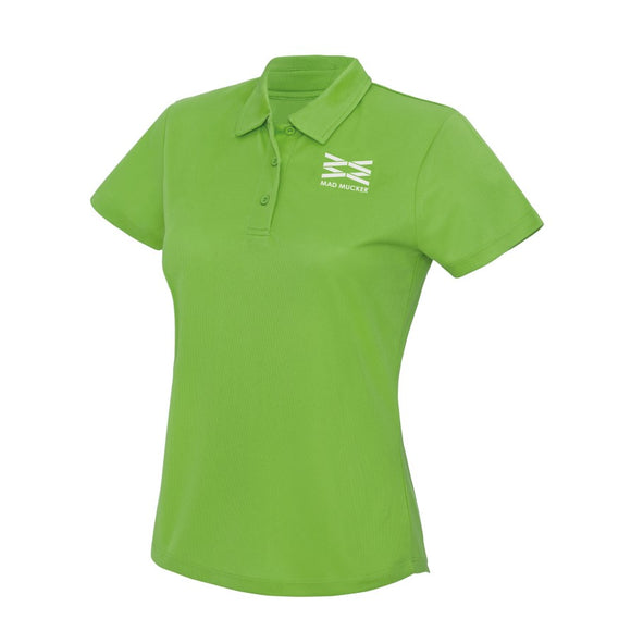 Polly Sports Polo - Citrus Lime