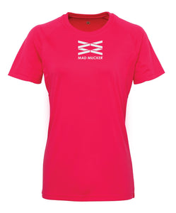 Luna Technical T-Shirt - Cerise Pink