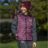 Mabel Hooded Gilet - Mulberry