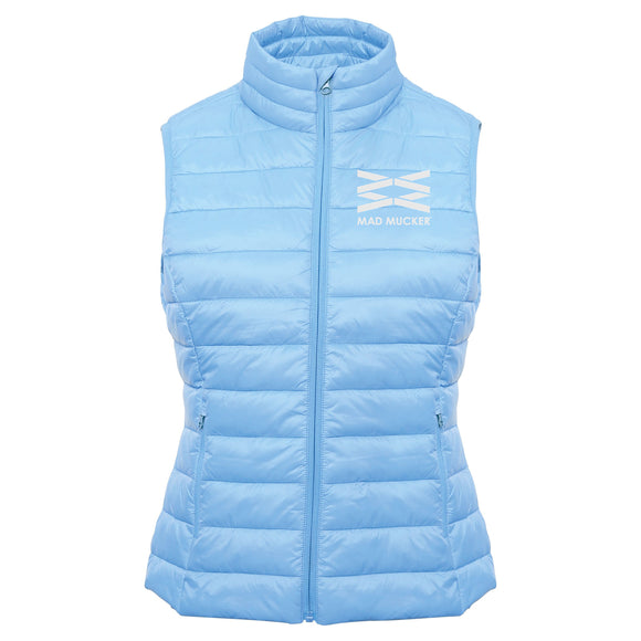 Martha Body Warmer - Ice Blue